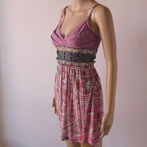 Anthropologie Rina Dhaka Print Dress Size 0